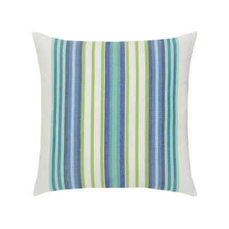 Summer Stripe Indoor/Outdoor Pillow by Elaine Smith