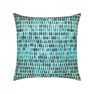 Thumbprint Indoor/Outdoor Pillow by Elaine Smith