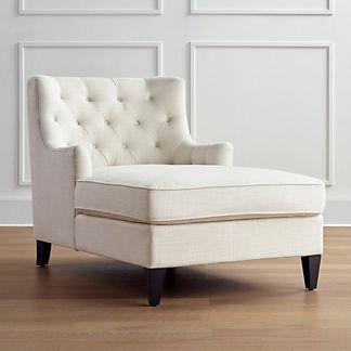 Lucille Tufted Chaise