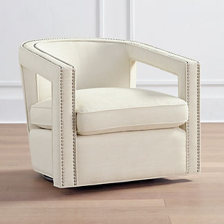Selena Swivel Chair, Special Order