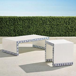 Barona Handpainted Tables