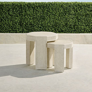 Cordoba Nesting Side Tables, Set of Two
