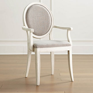 Georgia Upholstered Dining Arm Chair