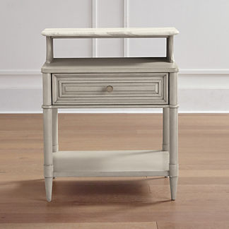 Hugo Marble Top Nightstand