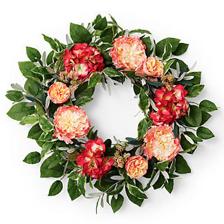Alhambra Peony Rose Wreath