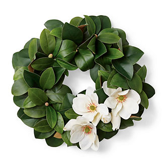 Magnolia Floral Wreath