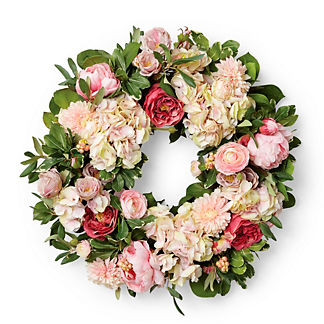 Gabriela Garden Flowers Wreath