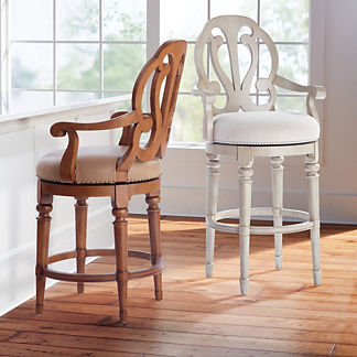 Rosedale Swivel Bar & Counter Stool