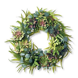 Savannah Sea Salt Succulent Wreath