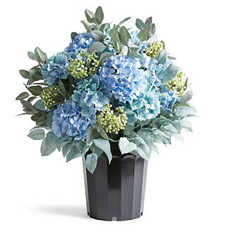 Madrid Hydrangea Lemon Leaf Berry Urn Filler