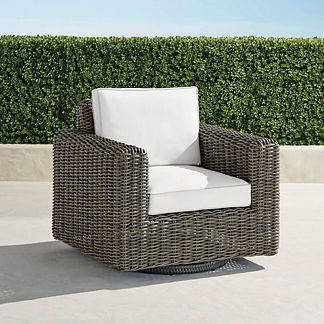 Small Vista Swivel Lounge Chair, Special Order