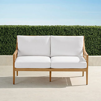 Bowery Loveseat with Cushions, Special Order