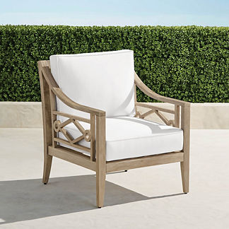 Surrey Hill Lounge Chair in Weathered Teak, Special Order