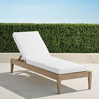 Surrey Hill Chaise in Weathered Teak, Special Order