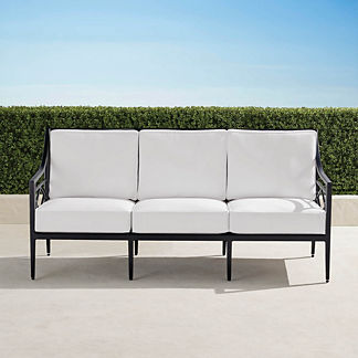 Surrey Hill Sofa in Aluminum, Special Order