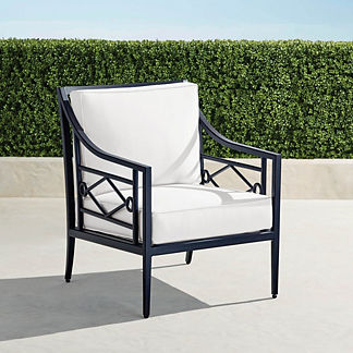 Surrey Hill Lounge Chair in Aluminum