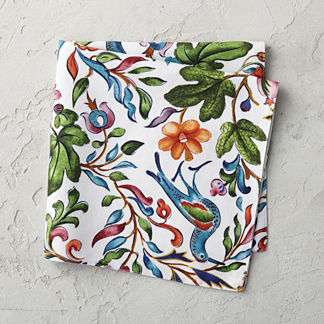 Flora Fauna Placemat and Napkins