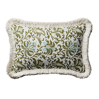 Reina Floral Lumbar Indoor/Outdoor Pillow
