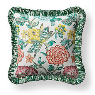 Harlan Floral Indoor/Outdoor Pillow