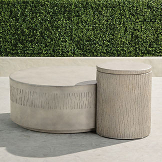 Faye Coffee Table and Nesting Side Table