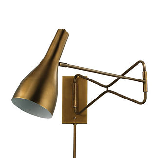 Axel Swing Arm Wall Sconce