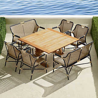 Reeve 7-piece Square Dining Set