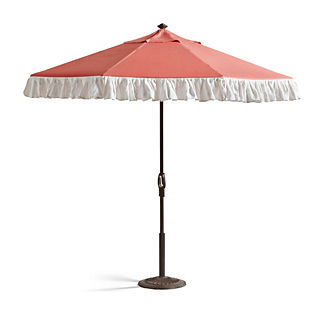 Palm Springs Ruffle Umbrella