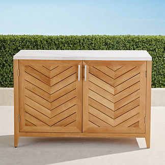 Westport Outdoor Kitchen Cabinet with Two Doors