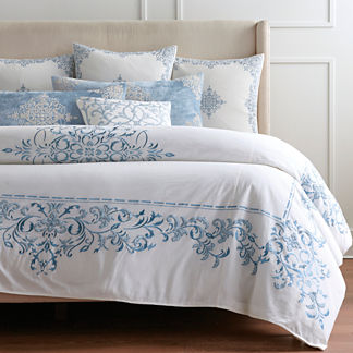 Seraphina Embroidered Duvet Cover