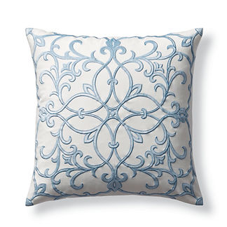 Seraphina Embroidered Velvet Pillow Cover