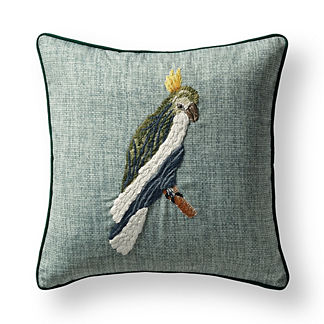 Tropical Birds Indoor/Outdoor Pillow Cover