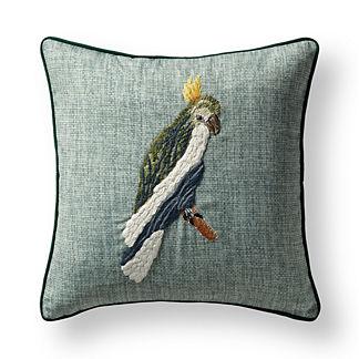 Tropical Birds Indoor/Outdoor Pillow Cover
