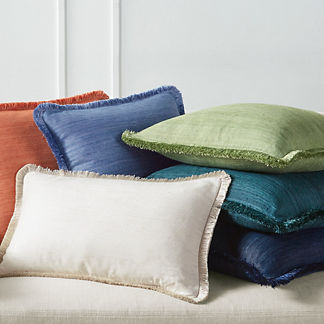 Marilia Silk Decorative Pillow Covers