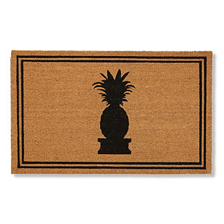 St Simons Pineapple Coco Door Mat