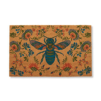 Queen Bee Coco Door Mat