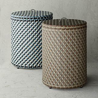Harper Indoor/Outdoor Wicker Baskets