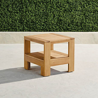 Calhoun Teak Side Table