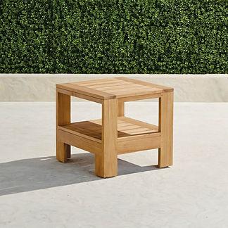 Calhoun Teak Side Table