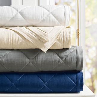 Willow Cotton Linen Quilt