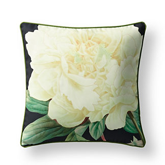 New York Botanical Garden Peony Indoor/Outdoor Pillow