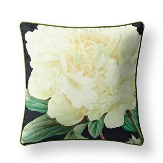 New York Botanical Garden Peony Indoor/Outdoor Pillow