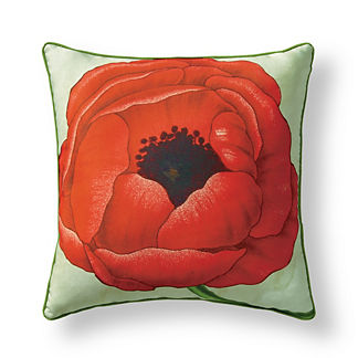 New York Botanical Garden Anemone Indoor/Outdoor Pillow