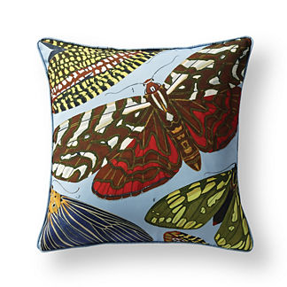New York Botanical Garden Flight Patterns Indoor/Outdoor Pillow