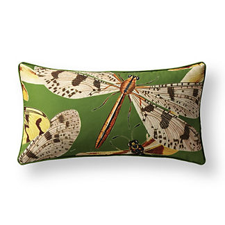 New York Botanical Garden Soaring Dragonfly Indoor/Outdoor Pillow