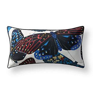 New York Botanical Garden Bold Wings Lumbar Indoor/Outdoor Pillow