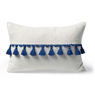 Carranor Terry Cloth Lumbar Indoor/Outdoor Pillow