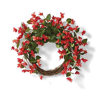 Oleander Bougainvillea Wreath
