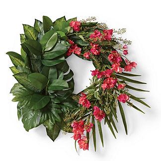 Las Palmas Tropical Wreath