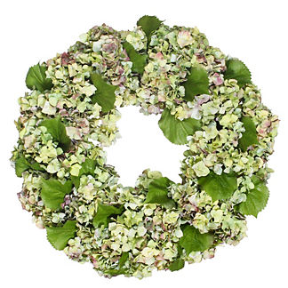 Flora Hydrangea Bouquet Wreath