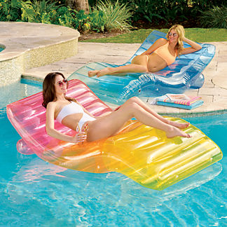 Inflatable Chaise Lounger